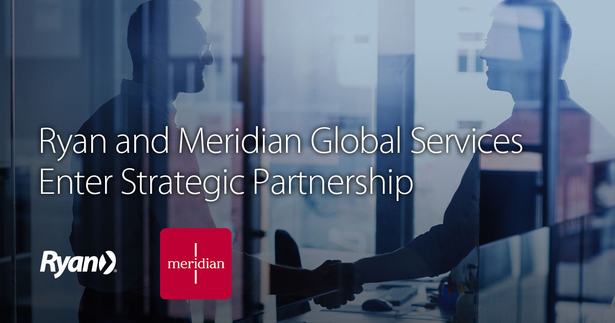 Ryan and Meridian Global Services Enter Partnership